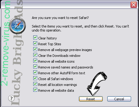Search.zebrouss.com Safari reset