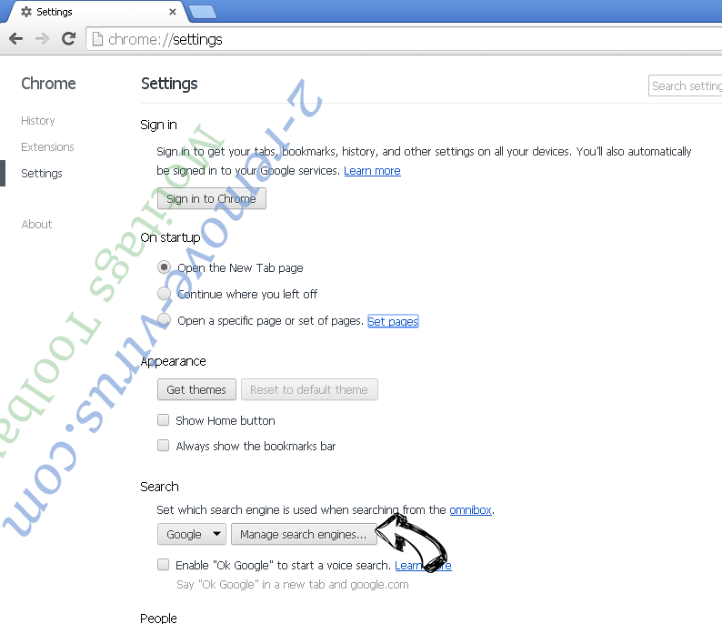 Sweetpacks Toolbar Chrome extensions disable