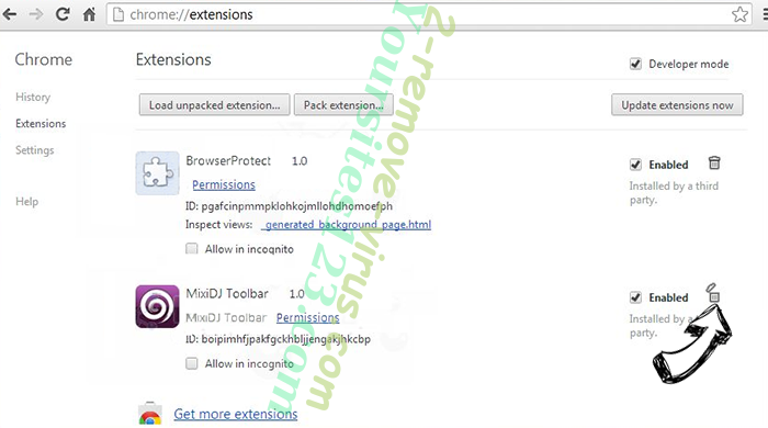 Securewebsearch.info Chrome extensions remove