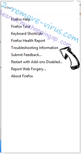 Supprimer Yoursearchresults.biz Firefox troubleshooting