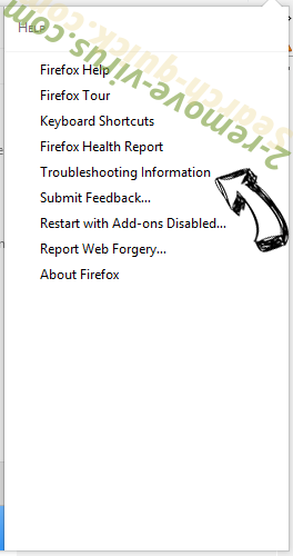 Search-quick.com Firefox troubleshooting