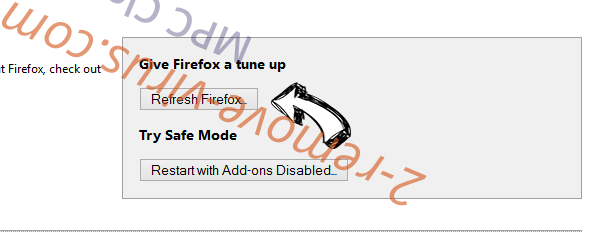 MPC Cleaner Firefox reset