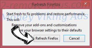 Cash Back Assistant Firefox reset confirm