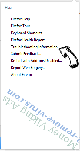 Money Viking Ads Firefox troubleshooting