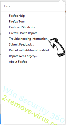 Search.easymapsaccess.com Firefox troubleshooting