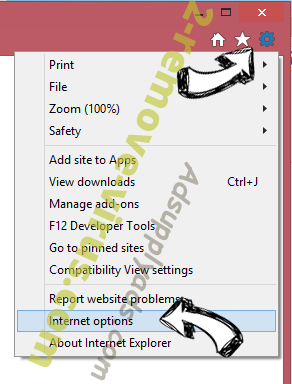 ccc File Extension IE options