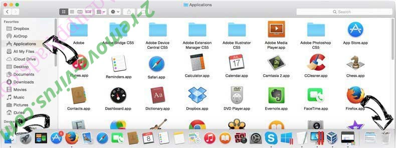 Search Recipes Adware removal from MAC OS X