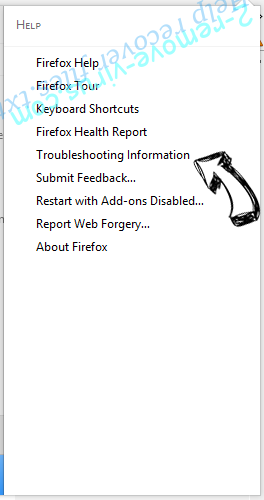 Supprimer Websearch.searchfix.info Firefox troubleshooting