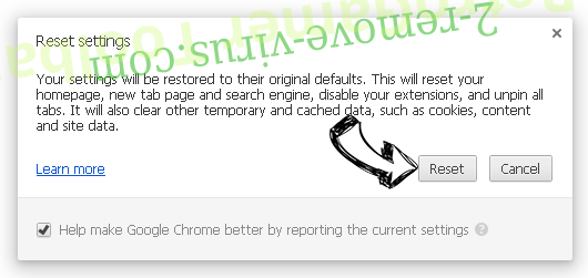 Performance Optimizer Chrome reset