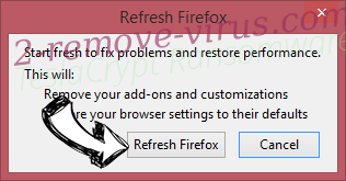 Search.rockettab.com Firefox reset confirm