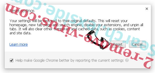Searchincognito.com Chrome reset