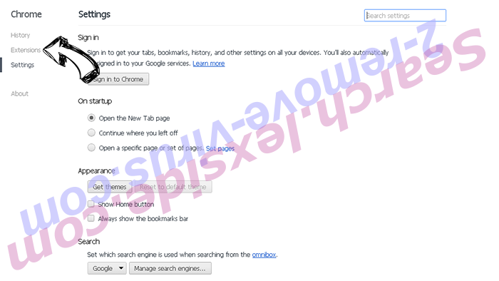 AOL Toolbar Chrome settings