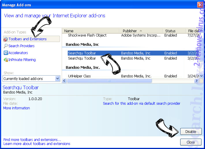 AOL Toolbar IE toolbars and extensions