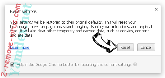Sial.me Chrome reset