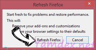 Windows Product Key Expired Scam Firefox reset confirm