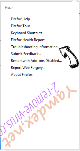 Oossek.com Virus Firefox troubleshooting