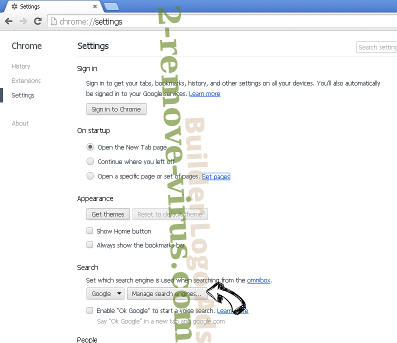 Search.searchw3m.com virus Chrome extensions disable