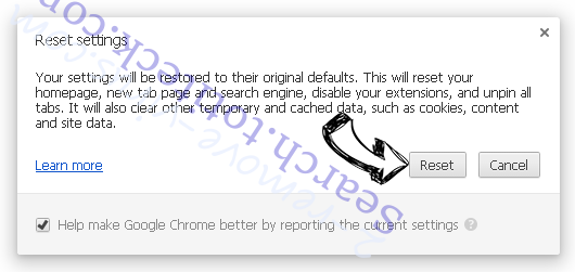 .ccc File Extension Virus Chrome reset