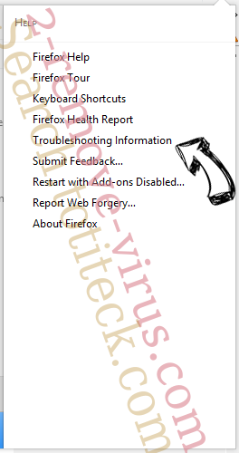 Search.easyrecipesaccess.com Firefox troubleshooting