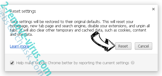 websearch.ask.com Chrome reset