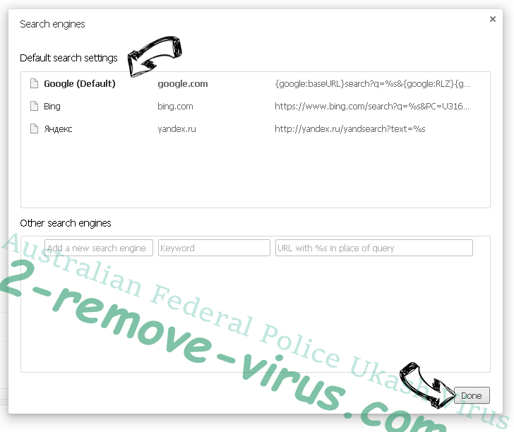 Australian Federal Police Ukash Virus Chrome extensions disable