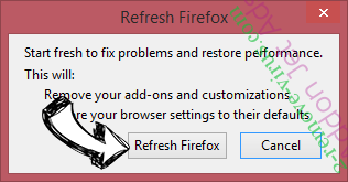 Search.SearchtAccess.com Firefox reset confirm