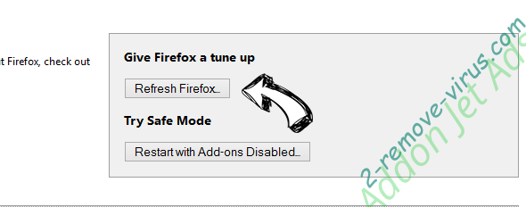 Combo-Search.com Firefox reset