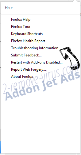 Addon Jet Ads Firefox troubleshooting