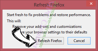 100s of Recipes Toolbar Firefox reset confirm