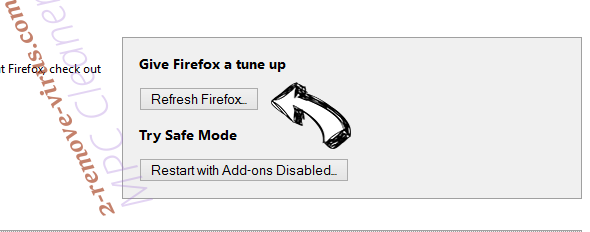 Advanced PC Care Firefox reset