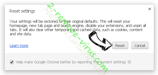 ByteFence Chrome reset