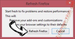 Search.queryrouter.com Firefox reset confirm