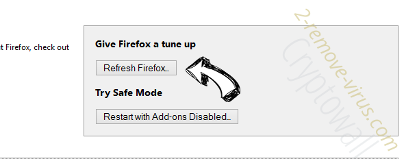 .vvv File Extension Virus Firefox reset