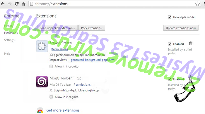 MyShopBot Chrome extensions remove