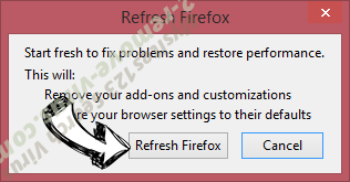 Booking.com Redirect Firefox reset confirm