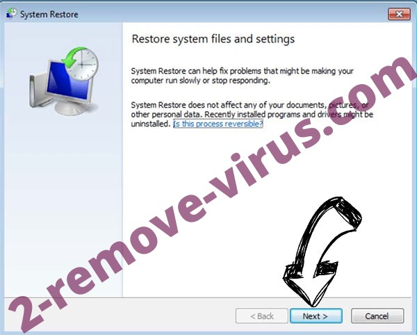 Get rid of Cryptolocker3 - restore init