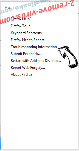 Startsearch.info Firefox troubleshooting