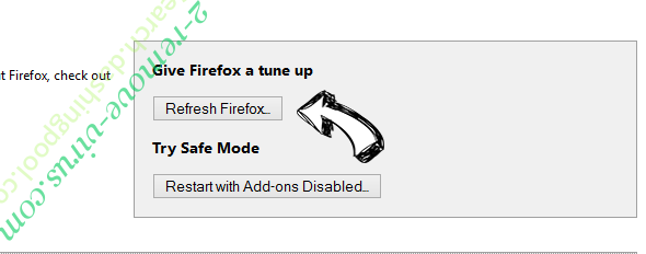 Search.dashingpool.com Firefox reset