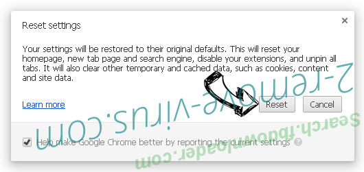 SafeServeSearch.com verwijderen Chrome reset