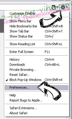 Screen Addict Safari menu