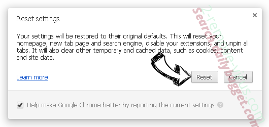 Searchtopresults.com Chrome reset