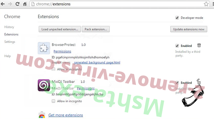 Smarter Password Chrome extensions remove