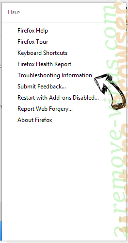 Eliminar Mustang Browser Firefox troubleshooting