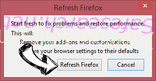 Search.snowballsam.com Firefox reset confirm