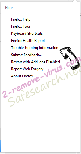 Safesearch.net Firefox troubleshooting