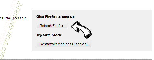 Zeta-search.com Firefox reset