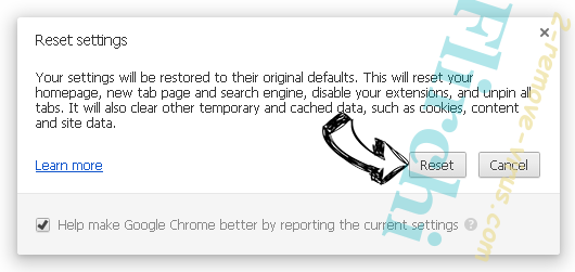 Flirchi Chrome reset
