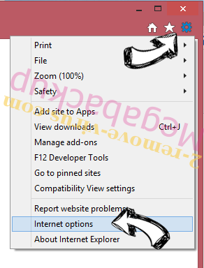 Convert to PDF New Tab IE gear