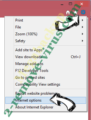 Convert to PDF New Tab IE options