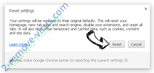WeatherWizard Chrome reset